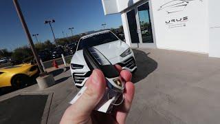 Getting a $249k Lamborghini Urus