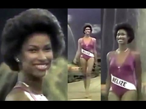 Miss Belize Makes Semifinals at Miss Universe 1979