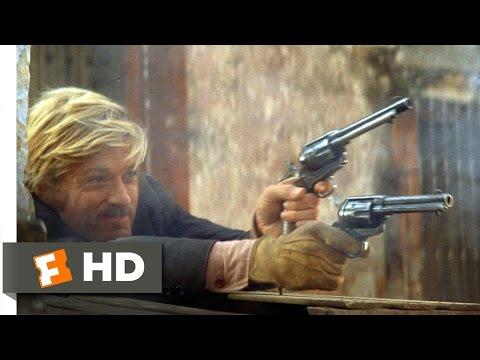 Butch Cassidy and the Sundance Kid (1969) - The ShootoutScene (4/5) | Movieclips