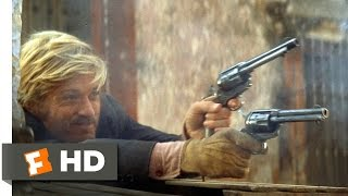 Butch Cassidy and the Sundance Kid (1969) - The Shootout Scene (4/5) | Movieclips