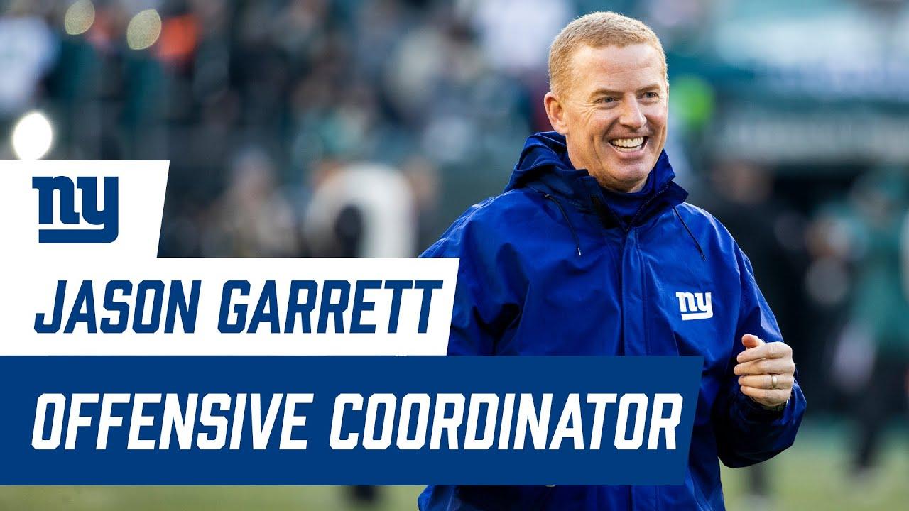 Jason Garrett hired as New York Giants' offensive coordinator after ...