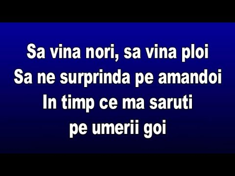 Lidia Buble - Tu (Versuri/Lyrics)