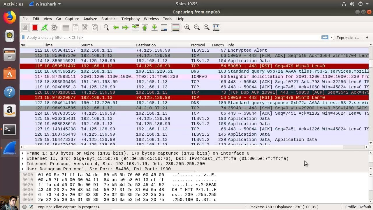 wireshark sous ubuntu