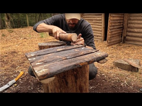 Building a Medieval Window with NO NAILS | Bushcraft Project (PART 14)
