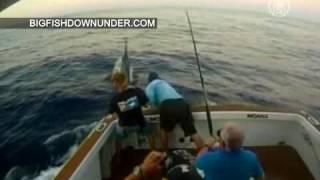 Видео: рыбу весом в полтонны поймали в Австралии(( http://ntdtv.ru ) Вы видите беспрецедентную рыбалку, запечатленную на любительскую видеокамеру. Это произошло..., 2012-11-06T09:00:01.000Z)