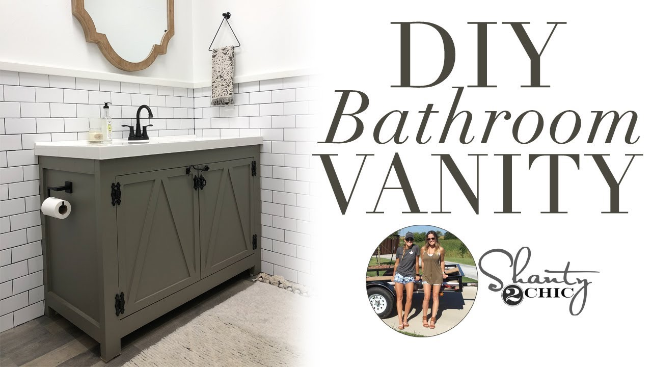 Diy Bathroom Vanity You