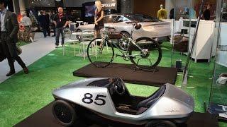 Like Bike Montecarlo 1° Day  Pininfarina presenta progetti espressione del concept Fuoriserie