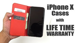 Best iPhone X Cases with LIFE TIME WARRANTY! (Shieldon) [4K] 21:9