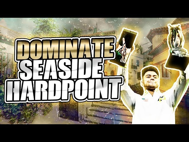 SEASIDE HARDPOINT SPAWNS | KNOW WHERE ENEMIES ARE COMING | COMPETITIVE COD BO4 TIPS, STRATEGY, HP GB