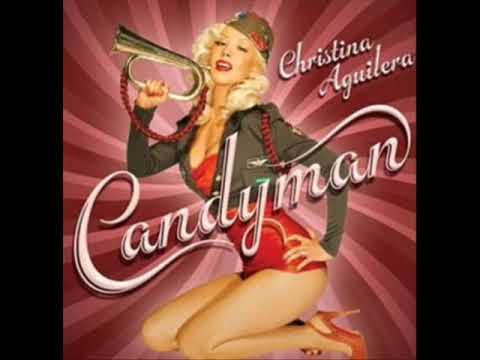 Christina Aguilera - Candyman - lyrics on screen