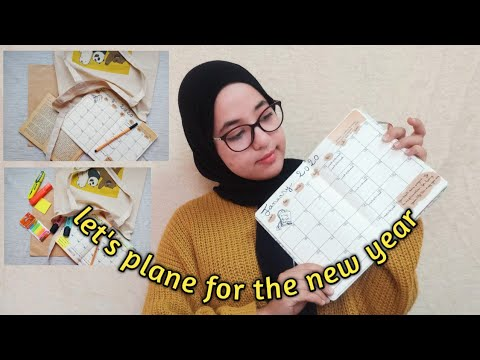 Let's Plane For The New Year |how To Plane For 2020,my Goals For 2020