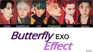 EXO (엑소) - Butterfly Effect[ITA traduzione_Color Coded Lyrics_Han_Rom]