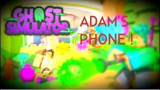 How to find Adam's Cellphone Roblox: Ghost Simulator