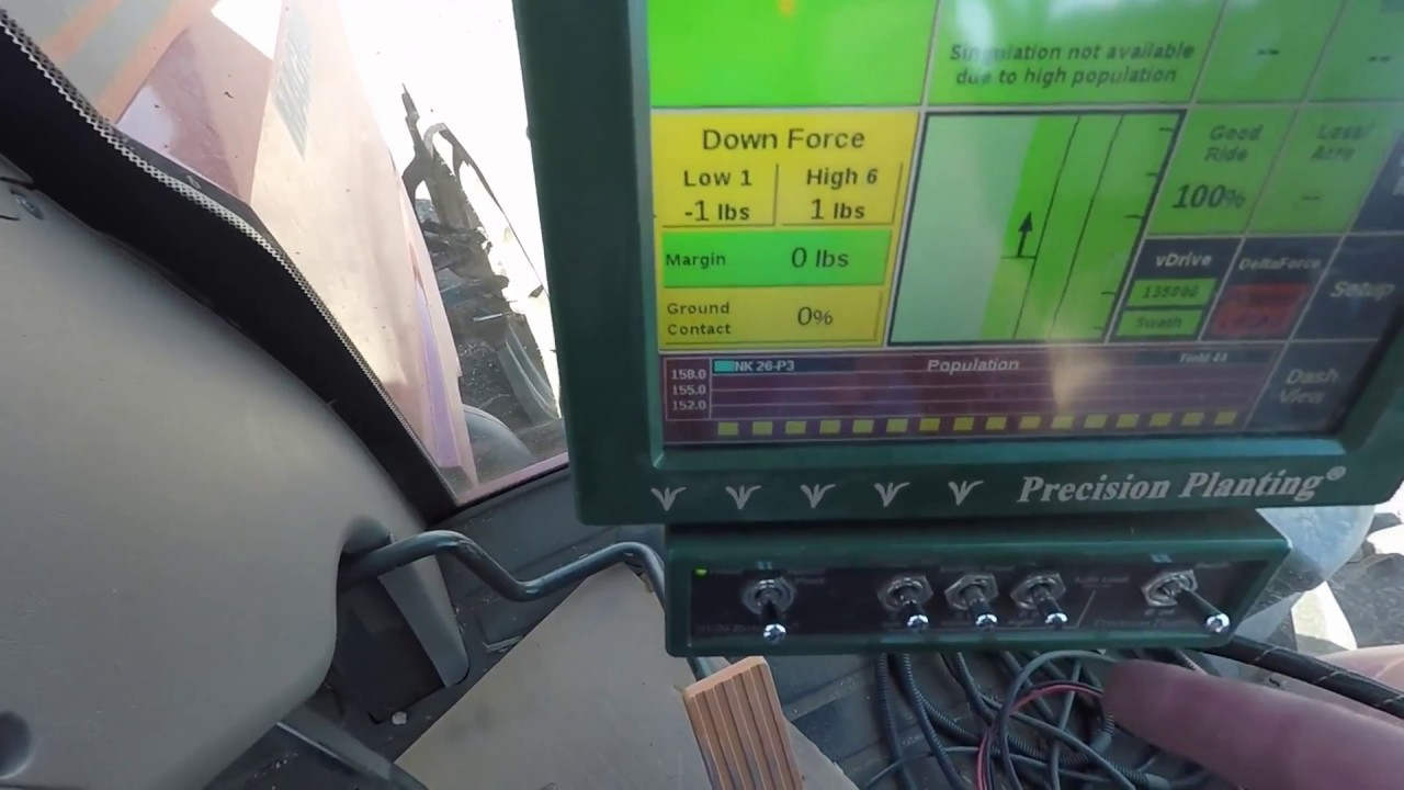 Precision Planting 20 20 Seed Sense Monitor Review Youtube