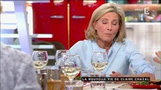 La nouvelle vie de Claire Chazal - C à vous - 18/02/2016