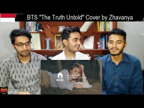 """Reaction On: BTS (전하지 못한 진심) """"The Truth Untold"""" Cover By Zhavanya"""