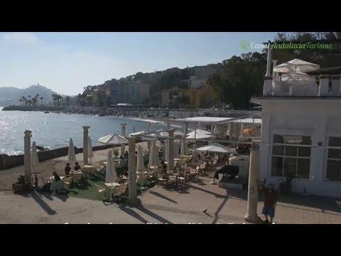 Banos Del Carmen Y Espetos En La Playa De Pedregalejo Malaga Youtube