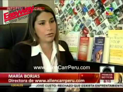 Allen Carr Peru en ATV Primera Noticia 19 Nov 2013 Travel Video