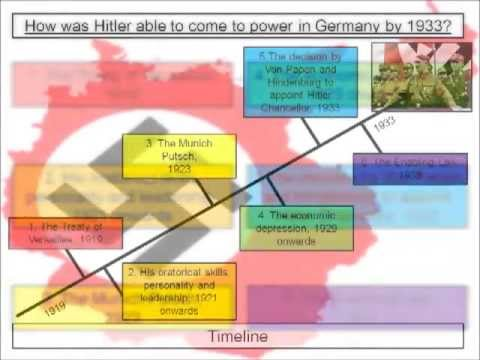 how and why was hitler able So the end result was that by being chancellor he could take full advantage of the reichstag fire and the nazis were able to win the election this was a short-term cause for hitler's rise.
