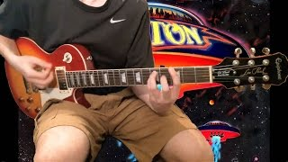 Boston More Than a Feeling Guitar Cover With Backing Track