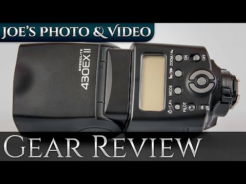 Canon 430EX II Speedlite Flash   Gear Review