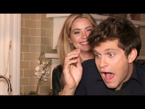 Keegan Allen Gets Pranked By Ashley Benson & Talks Kissing James Franco Pretty Little Liars
