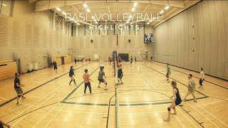 BASL Volleyball | Playoff Highlights - 2018-04-12