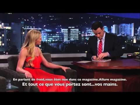 Jennifer Morrison-Jimmy Kimmel-17/04/2013-VOSTFR