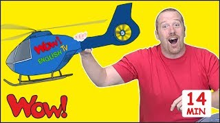 Magic Toys for Kids + MORE Stories for Children from Steve and Maggie | Speaking Wow English TV thumbnail