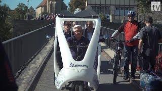 Neckartal Radweg bei Lauffen eröffnet