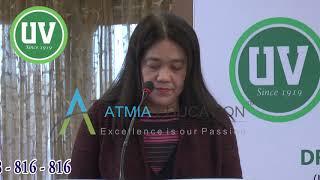 Uv Gullas College of Medicine - Atmia Education - Dr. Rosemarie Espanol