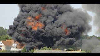 Shoreham air show plane crash | FULL VIDEO |West Sussex