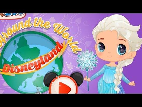 NEW Игры для детей—Disney Холодное сердце малышка Эльзы в путешествии—Мультик для девочек
