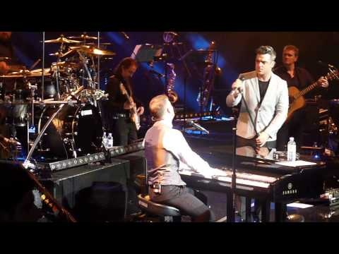 Gary Barlow Solo Tour - 'EIGHT LETTERS' with Robbie Williams - Royal Albert Hall - 27/11/12