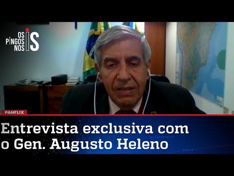 General Augusto Heleno fala à Jovem Pan