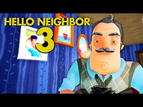 HELLO NEIGHBOR 3 ! Vecinul Batran