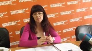 Начальник отдела защиты прав и свобод детей прокуратуры Харьковской области Алла Правосуд 1