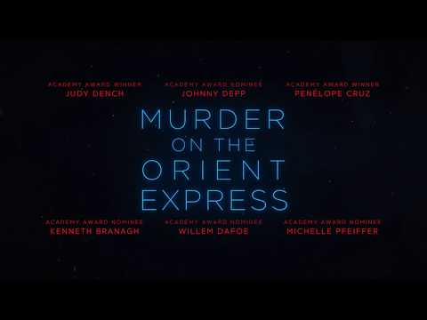 Murder on the Orient Express Intro - [C4D & AE]