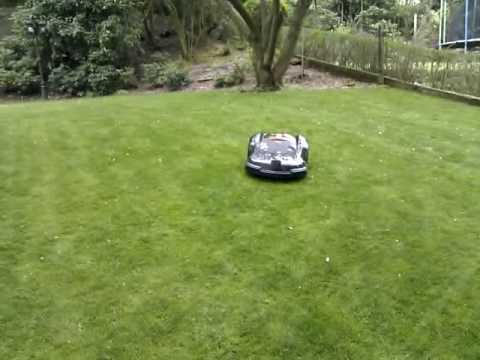 Roboter Rasenmäher, Mähroboter Automower 230 ACX - YouTube