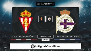 Real Sporting - RC Deportivo MD5 D2100