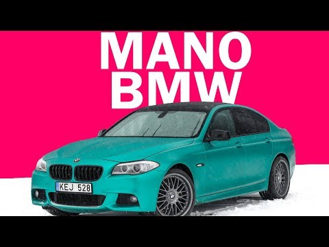 MANO BMW. LAIMĖK PLAYSTATION 4