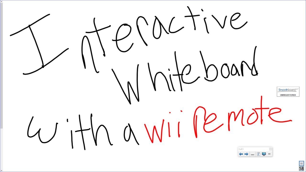 How to Make a Simple Wii Remote Interactive Whiteboard