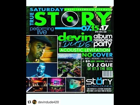 Devin The Dude Acoustic Levitation Album Release Party