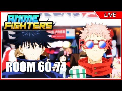 Update9 ก็ใกล้จะมาแล้ว เดินเล่นห้อง60-75 เก็บเงิน1Q | Roblox Anime Fighters Simulator