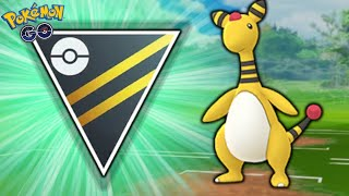 AMPHAROS CAN SPICE UP YOUR ULTRA LEAGUE TEAM | POKEMON GO BATTLE LEAGUE PVP