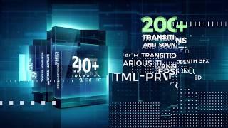 Premiere Pro Templates 200 Pack Cinematic Action Transitions Sound FX