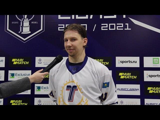 Дмитрий Стулов защитник ХК «Торпедо» (13.03.2021)
