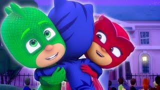 Heroes en Pijamas Capitulos Completos ⭐️ Día de los niños ⭐️45 Minutos |  Dibujos Animados
