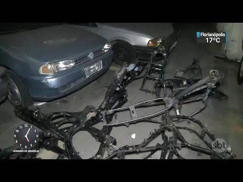 Operação prende membro de quadrilha especializada em roubo de motos | SBT Notícias (30/08/18)