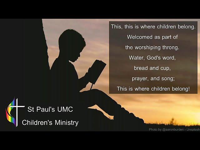 Sunday Worship - 8/30/2020
